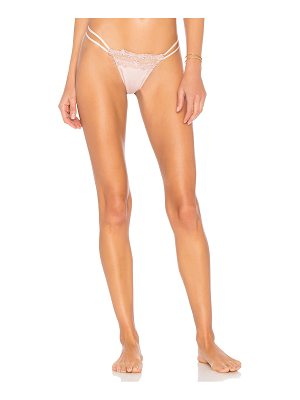 FLORA NIKROOZ Showstopper Thong