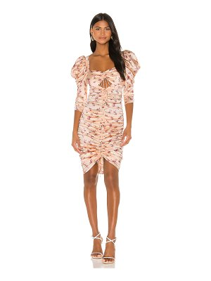 For Love & Lemons aster floral midi dress