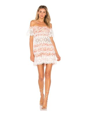For Love & Lemons Cadence Off The Shoulder Dress