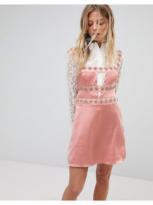 For Love & Lemons for love and lemons opal embellished mini dress