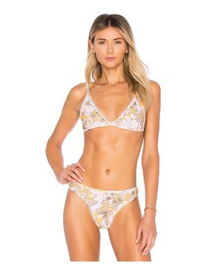FOR LOVE & LEMONS Isla Triangle Top