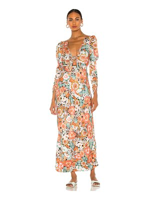 For Love & Lemons polly maxi dress