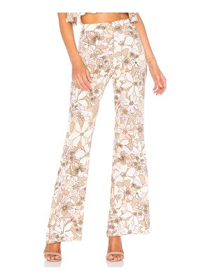 For Love & Lemons Renata High Waist Pants