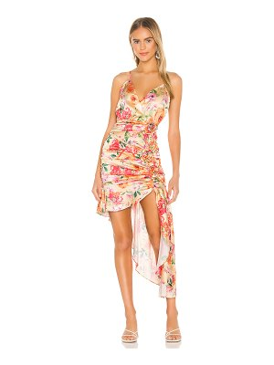 For Love & Lemons versilla high low dress