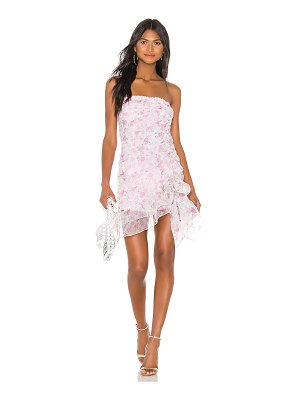 For Love & Lemons x revolve strapless mini dress