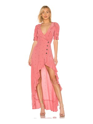 For Love & Lemons x revolve wrap dress