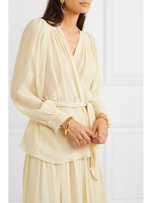 Forte Forte silk-crepon wrap blouse