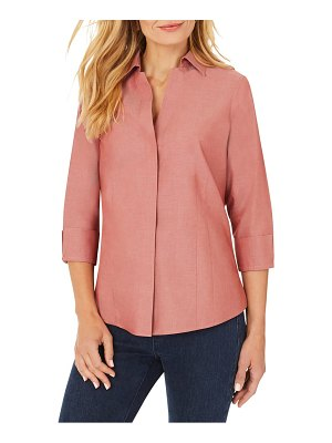 Foxcroft taylor fitted non-iron shirt
