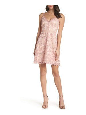Foxiedox elisabet 3d lace cocktail dress