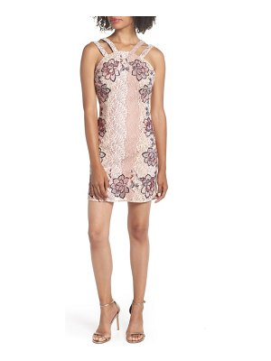 Foxiedox georgina applique sheath dress
