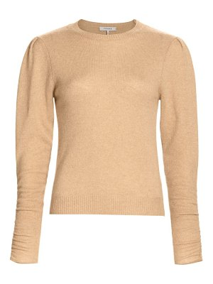 Frame gabby recycled cashmere & wool puff-sleeve sweater