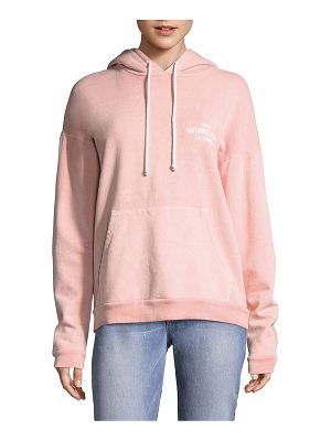 FRAME Oversized Faded Melrose Place Hooded Sweater
