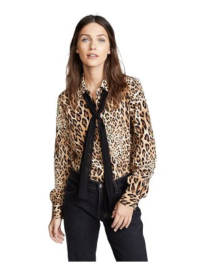 Frame pussy bow blouse