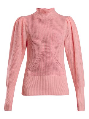 Frame Roll Neck Wool And Cashmere Knitted Sweater