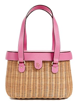Frances Valentine arielle wicker satchel
