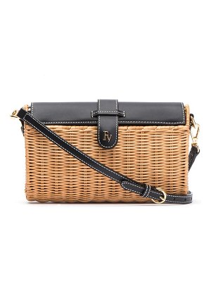 Frances Valentine betsy wicker basket crossbody bag