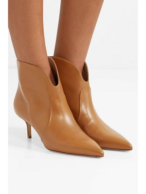 FRANCESCO RUSSO leather ankle boots