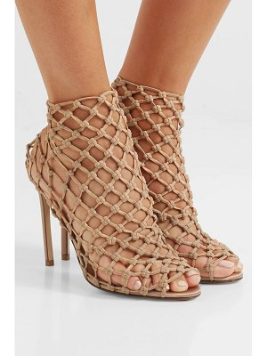 FRANCESCO RUSSO stretch-crochet sock boots
