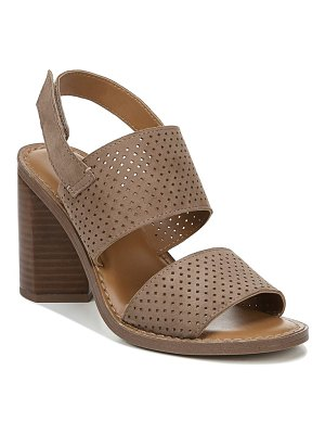 Franco Sarto devine perforated slingback sandal