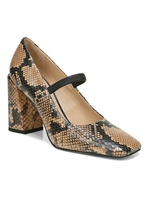 Franco Sarto halo square toe mary jane pump