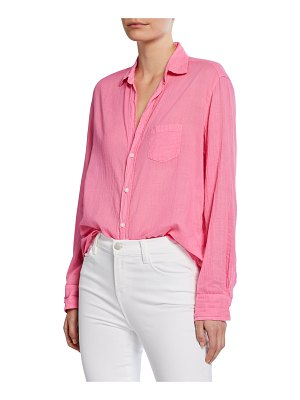 Frank & Eileen Cotton Voile Button-Down Shirt