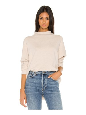 Frank & Eileen triple fleece funnel neck pullover