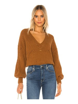 Free People all day long v sweater