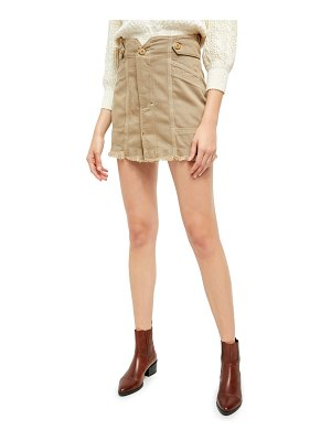 Free People alpha utility miniskirt