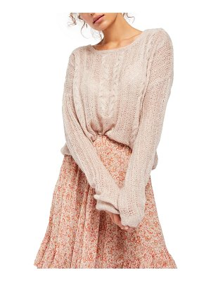 Free People angel sweater