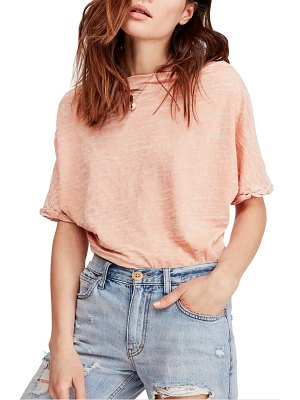 Free People astrid convertible neck tee