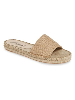 Free People beach front espadrille slide sandal