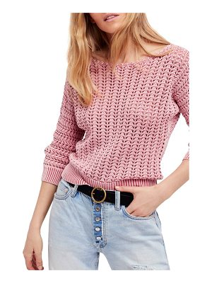 FREE PEOPLE Boomerang Sweater