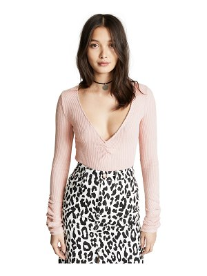 Free People cozy up with me bodysuit