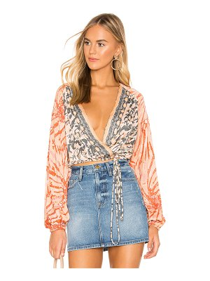 Free People Cruisin Together Blouse