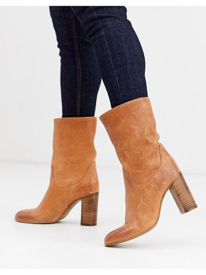 Free People dakota heel boot-brown