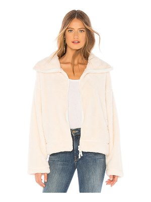 Free People Dazed High Neck Pullover Jacket