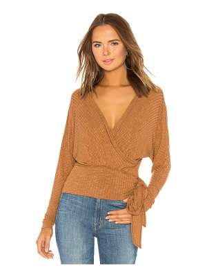 Free People East Coast Wrap Sweater