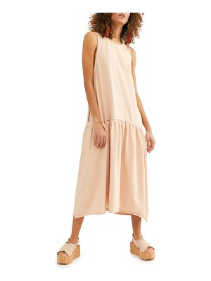 Free People endless summer by  drop waist midi dress
