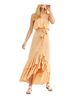 Free People endless summer by  tavia strapless maxi dress