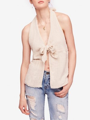 Free People endless summer island feels halter top