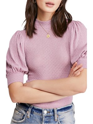 Free People good luck mock neck top