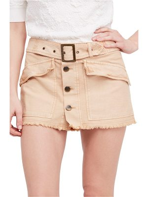 Free People hangin' on tight miniskirt
