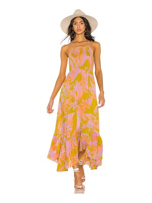 Free People heat wave maxi dress