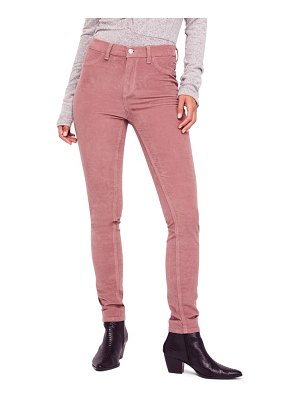 Free People high waist skinny corduroy pants