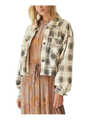 Free People james plaid jacket