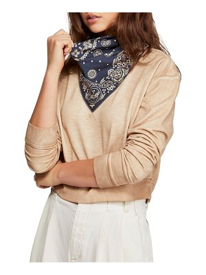 Free People james sweatshirt