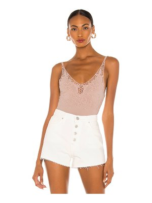 Free People lea bodysuit
