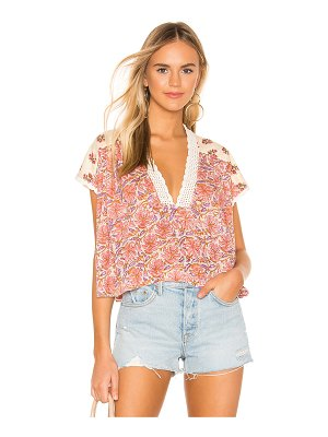 Free People Leilani Blouse