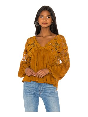 Free People lina lace top
