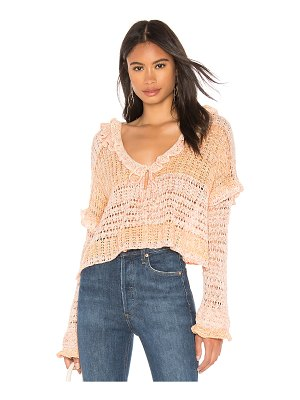 Free People love galore sweater